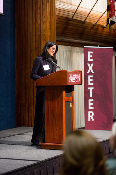 The Philips Exeter Academy Alumni Reception at the National Press Club in Washington, DC, April 20, 2017.