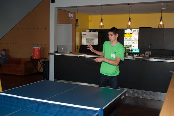 Alumni Ping Pong 2015