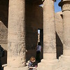 Alexander by the pillars.