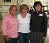 Carole Sievers Burke '65, Leslie Cameron Silva '65, Susan Bowers '65