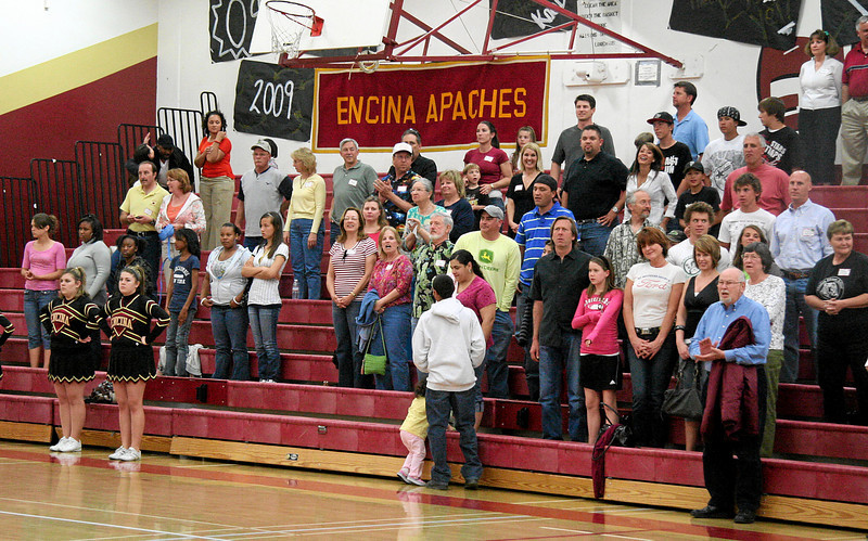 Hey, where did that Encina Apaches banner come from?