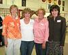 Kathy Byrne '65, Leslie Cameron '65, Carole Sievers '65, Susan Bowers '65