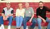 ?, Kathy Cooper '66, Alan Stroppini '66, John Skow '66