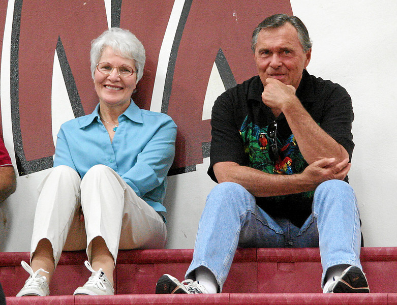 Encina researcher and 67 webmaster Kathie Kloss Marynik '67 and husband Jerry