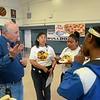Cafeteria: Steve Palmer '74, Lori Sato and her crew