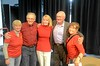 Kathie with 63 classmates Cathy Simmons Survillas '63, Peter Boam '63, Glenn Campbell '63, Bonnie McFarland Kaplan '63