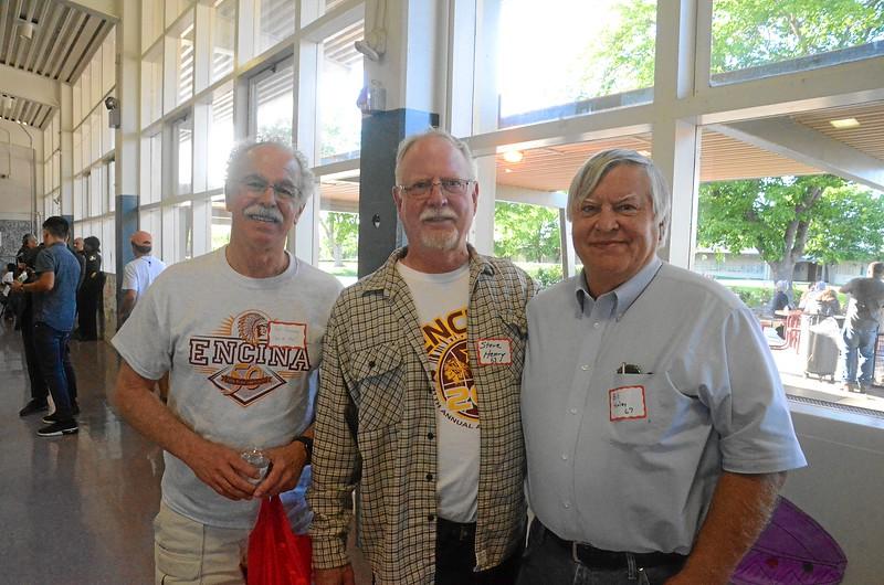 Pat Penney '67, Steve Henry '67, Bill Henley '67