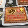 Birthday cake for the Class of 68's 50 year golden anniversary