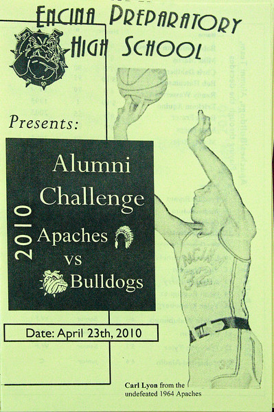 Program for the 2010 Encina Alumni Challenge