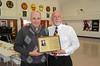 Steve Palmer 74, Principal Dan Kenley