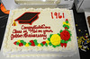 Cake celebrating golden anniversary of class of 61
