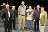 Glenn Campbell 63, Lou Costa 62, Jim Eakins 64, Michael Pascoe 62, John Goodman '63, ?