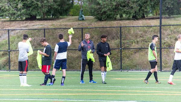 Alumni soccer