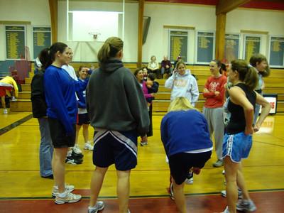 Alumnae Basketball Game 2010