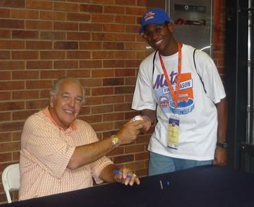 2011 Mets Vs Phillies: Ed Kranepool Meet & Greet
