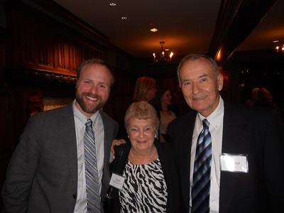 Glen Gibson '97, Doris Randall Gibson '55, Richard Baker