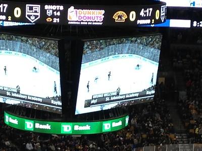 Bruins Welcome SJA