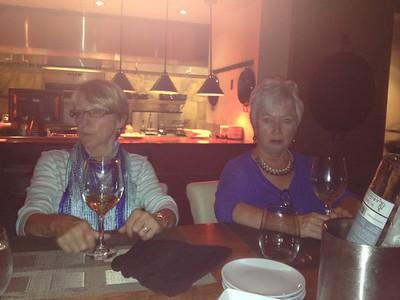 Carmen Gagne and Janet Quatrini