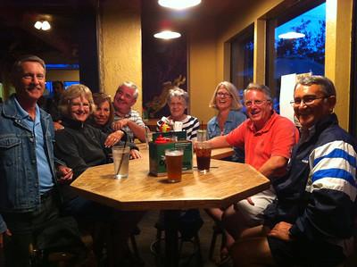 Dinner, Flagstaff Brewery
