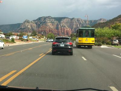 Heading to Red Rock Canyon, Sedona, AZ