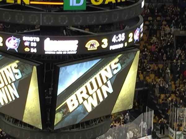 Boston Bruins Game January 23, 2016