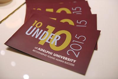 2015 10 Under 10 Dinner with Dr. Christine M. Riordan