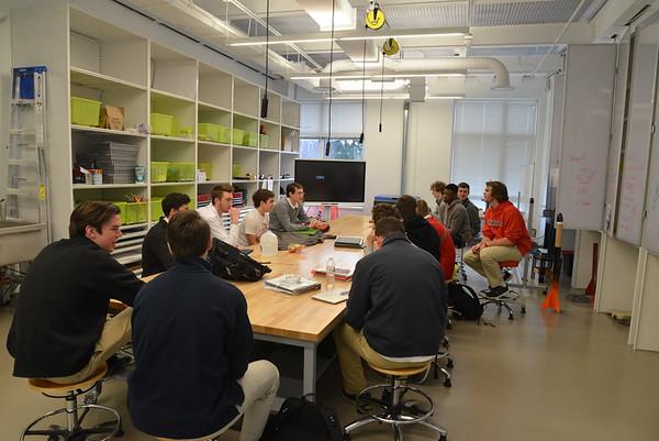 Katelyn Koon '12 Talks to GA Engineering Class