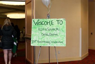 2016 Alpha Epsilon Phi Sorority Delta Chapter Centennial