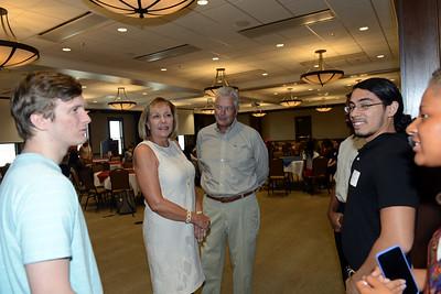 Milton and Denice Johnson host ice cream social