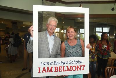 Bridges Ice Cream social with Milton and Denice Johnson