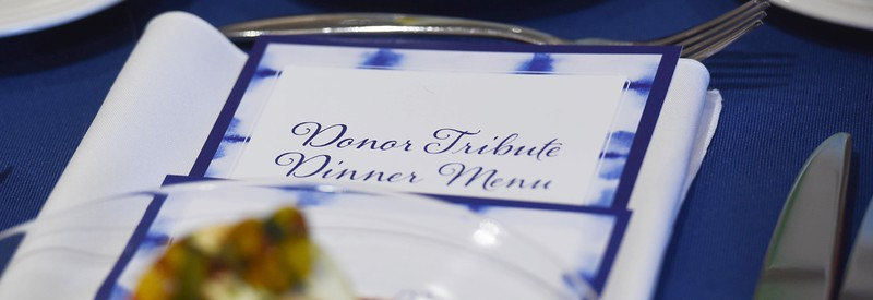 Donor Tribute Dinner