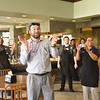 Karaoke in Harrington Dining Hall