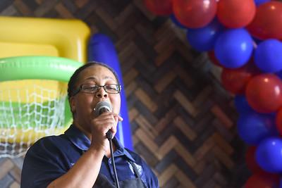 Karaoke in Harrington Dining Hall