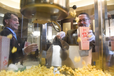 Senior Leadership sponsors an Afternoon Popcorn Bar