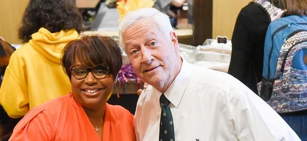 Senior Leadership sponsors an Afternoon Popcorn Bar for Homecoming