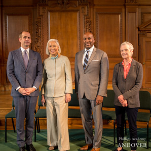 2017 Andover Alumni Award of Distinction