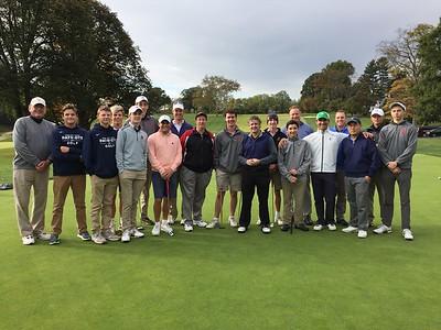 Alumni Golf Invitational with the GA Golf Team