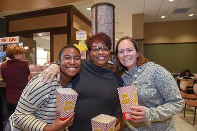 Senior Leadership Popcorn bar