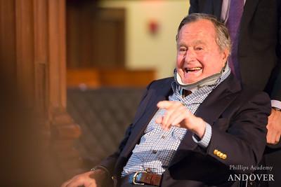 41 on 41: George H.W. Bush '42 All-School Meeting