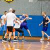 Defense blocking Al Lewis