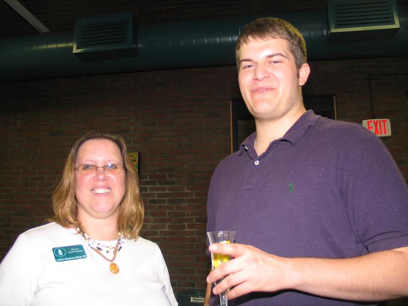 Andrea Sbona, Derek Birch (Graduate Student Rep)