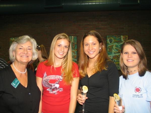 Claira Monier, Rebecca Sclaera, Athena Peterson, Jenn Andrikidis