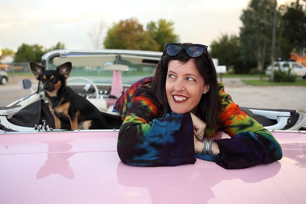 Jessica Corbran Pink Cadillac