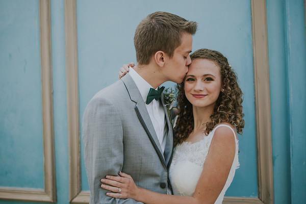 September 11 - Hannah Tesreau ('20)  married Aaron Mayes ('20)