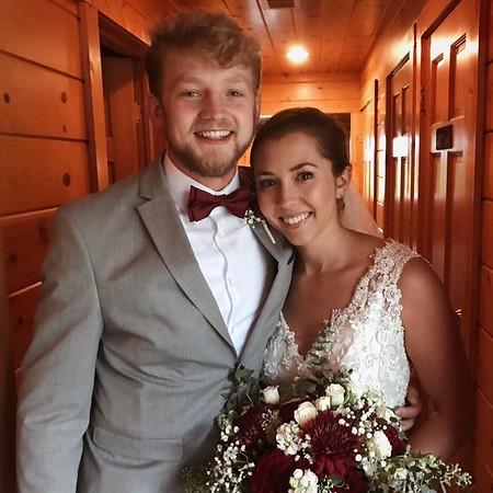 September 11 - Mikaela Grant married Clayton Morrison ('17)
