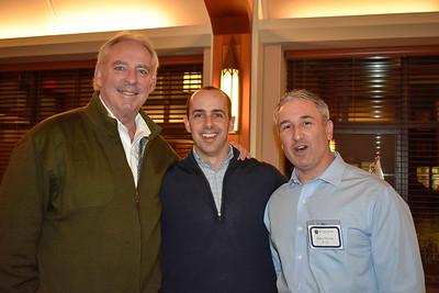 Kevin Driscoll '72, P '08, John McAuliffe '95, Jim Detora P '10