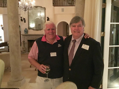 George Purnell '68 and Jim Corrigan '67, P'98