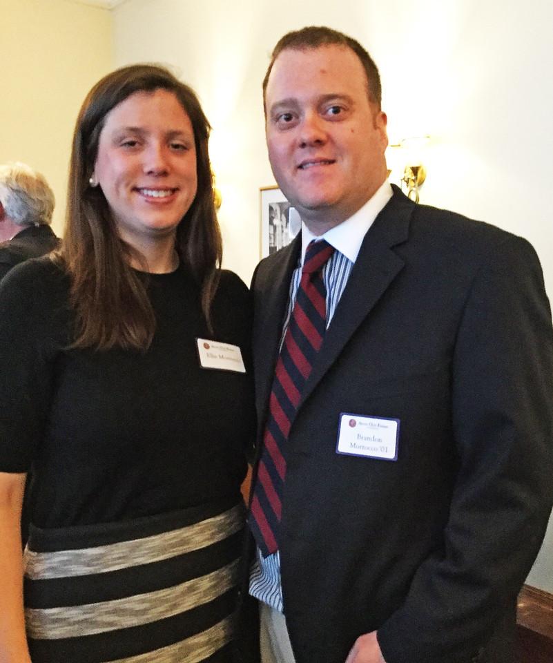 Elizabeth Morrocco and Brandon Morrocco '01