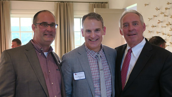 Larry O'Byrne '92, Jesse Rappaport '92, and Kevin Driscoll '72, P'08