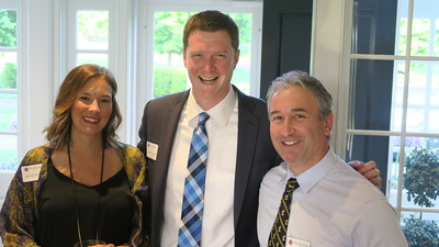 Nicole Finnegan, Mike Finnegan '04, Jim Detora P'08